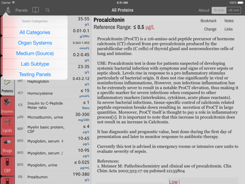 LabGear - Medical Lab Tests and Reference | App Price Drops