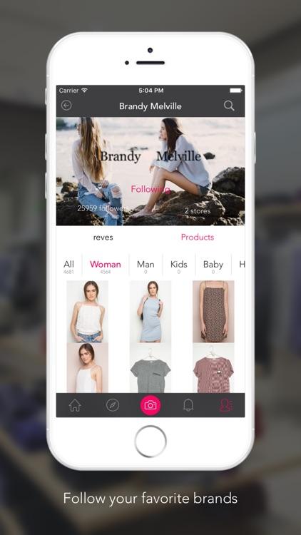 reve - Personalized fashion & smart shopping screenshot-3