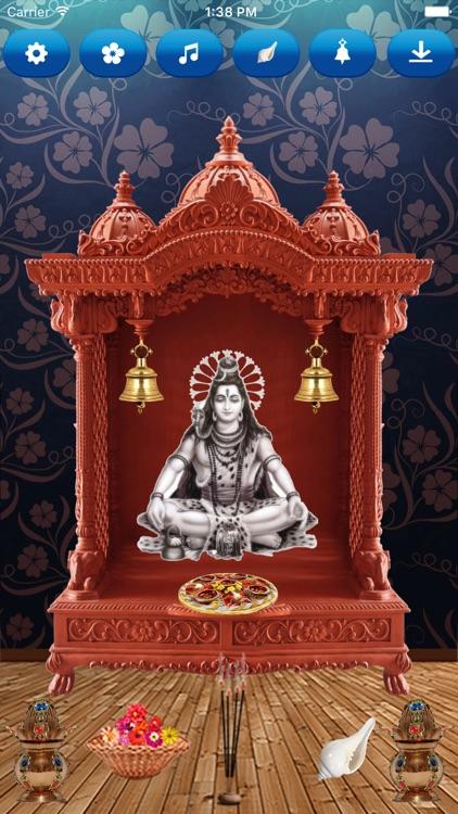 Lord Shiva 3D virtual Temple