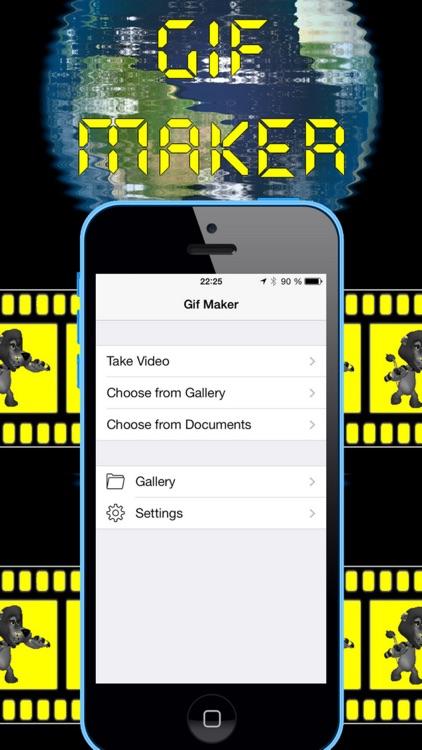 Video to GIF. Creator and Editor