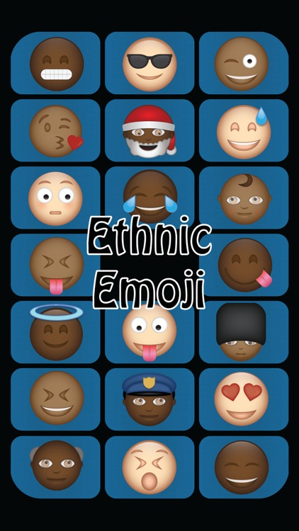 Ethnic Emoji screenshot-0