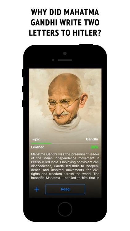 Gandhi - interactive book