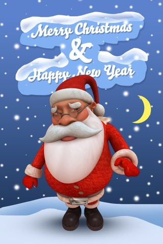 HO HO HO - Talking Santa 3D screenshot 3