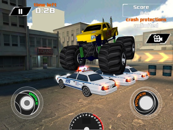 3D Monster Truck City Rampage - Extreme Car Crushing Destruction ...