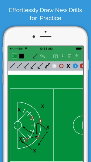 Lacrosse blueprint mens clipboard drawing tool for coaches on the lacrosse blueprint mens clipboard drawing tool for coaches on the app store malvernweather Choice Image