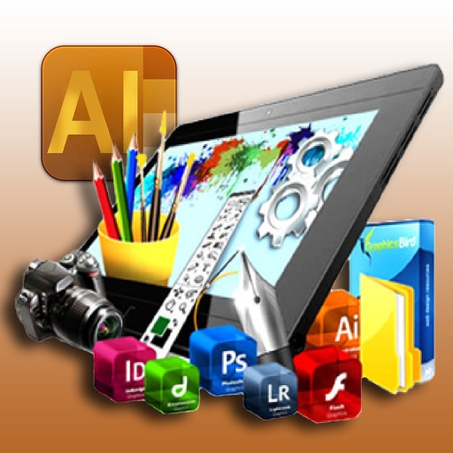 AI Advanced Illustrator for Professional - Ultimate Vector Editor for iPad Pro.