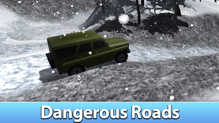 Winter Offroad UAZ Simulator 3D - Drive the Russian truck! by