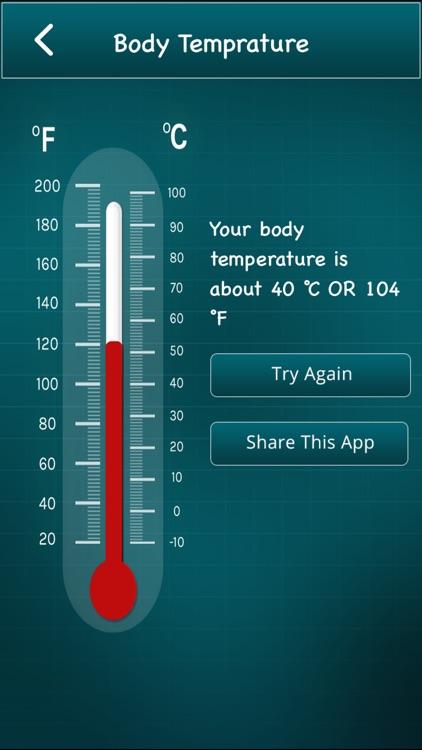 Finger Body Temperature screenshot-4