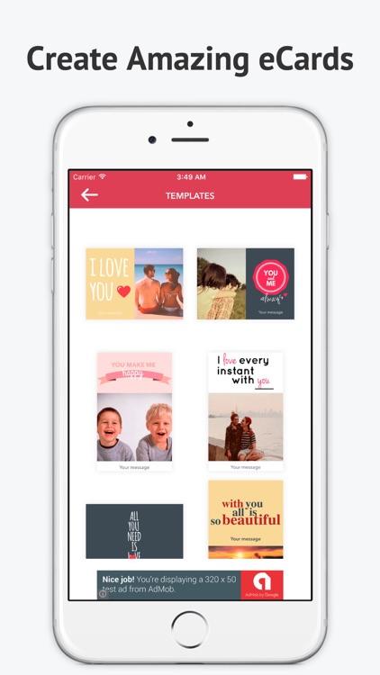 eCard Maker-Celebrate and Send Wishes Free screenshot-4