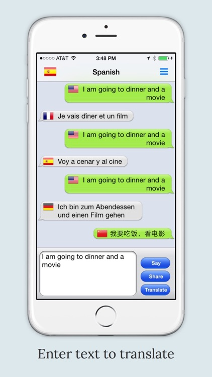 mText2Speech Translator screenshot-0