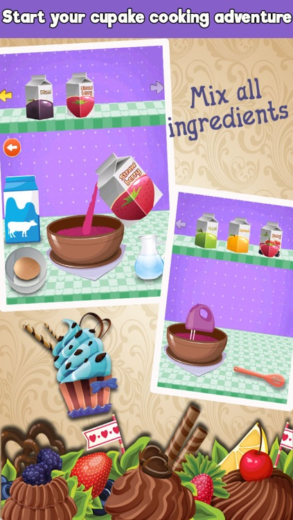 Crazy Cupcakes Maker Cooking games