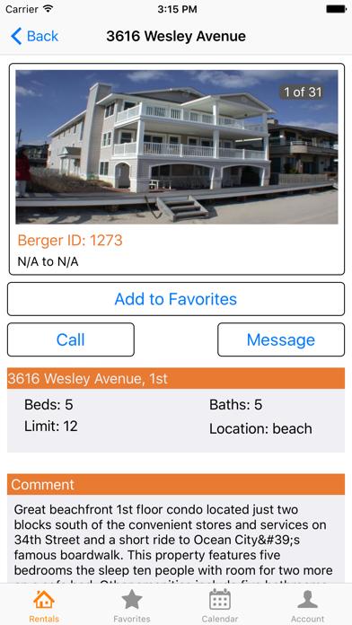 OC Rental Finder screenshot two