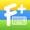 カラーフォントキーボード+ ∞ 特殊文字日本語文字入力、テーマ、新しい絵文字、無料顔文字、記号、ステッカーを搭載したクールなフォントきーぼーど(iPhone用)