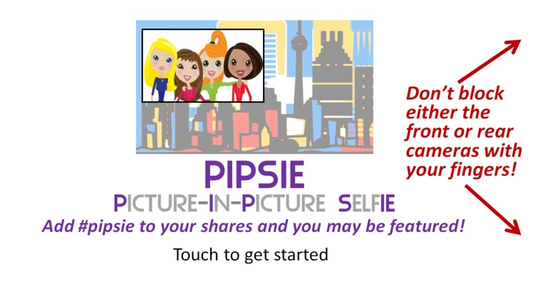 PIPSIE - Picture In Picture Selfies