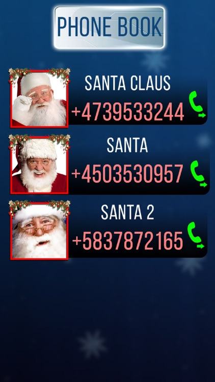 Fake Call Santa