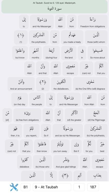 Quran Word by Word screenshot-0