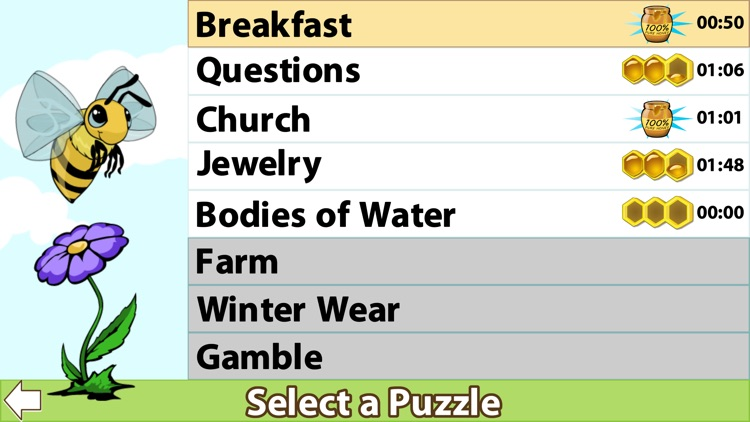 The Words and The Bees: Word Search screenshot-4