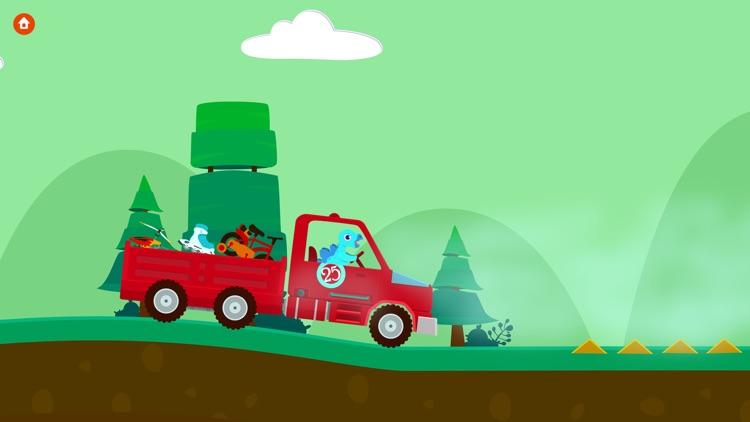 Dinosaur Truck - Driving Simulator Games For Kids screenshot-4