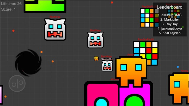 Justice Geometry Squad - Meltdown Heroes Dash Screenshot