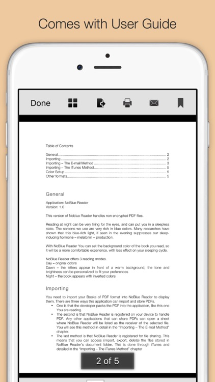NoBlue Reader screenshot-1