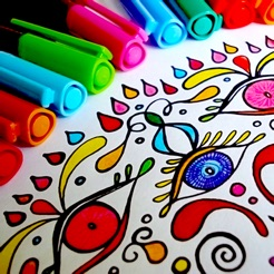 Mandala Coloring Pages Game on the App Store