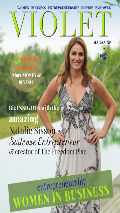 Violet Magazine for Female Entrepreneurs And Women In Business.
