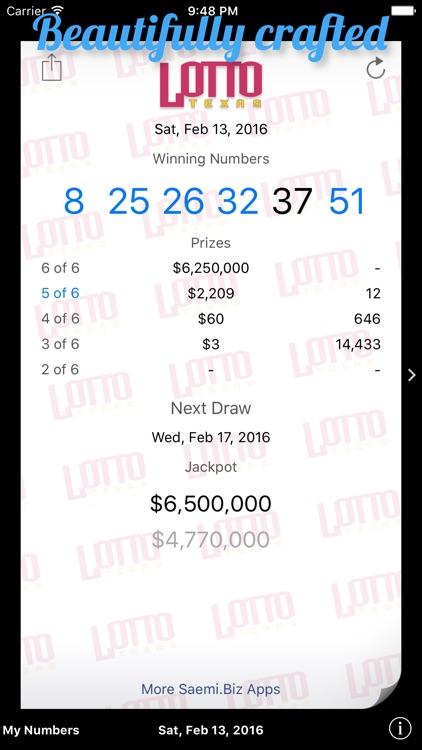 Lotto Texas Results