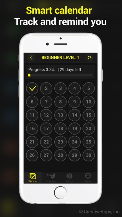 30 Day Abs screenshot-4