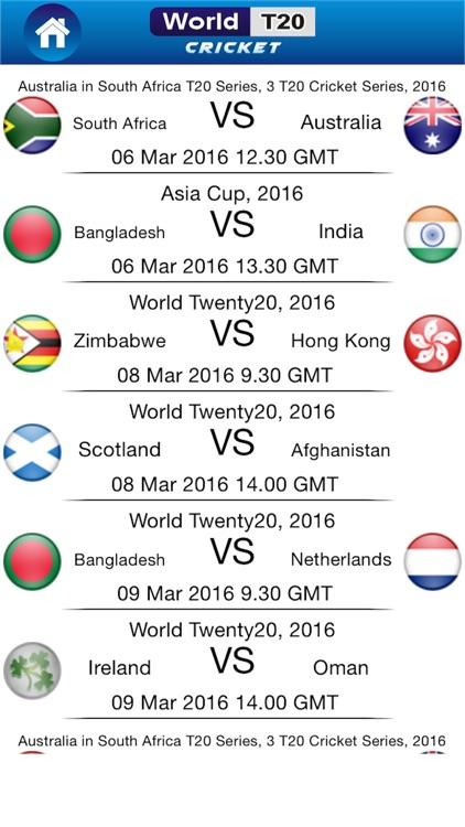 Cricket World T20