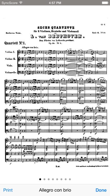 Beethoven All String Quartets screenshot-3