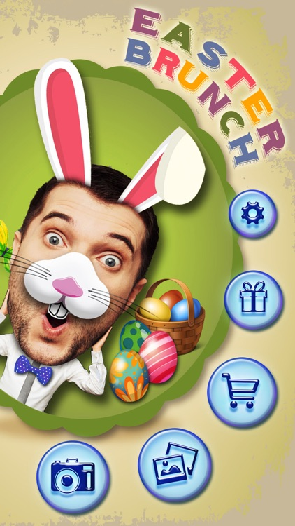 Easter Bunny Yourself - Holiday Photo Sticker Blender with Cute Bunnies & Eggs screenshot-3