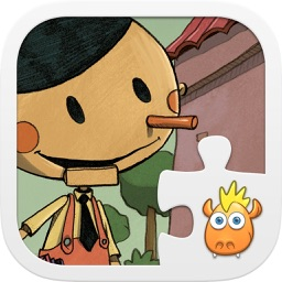 "Jigsaw Tale ""Pinocchio"" - Games for kids"