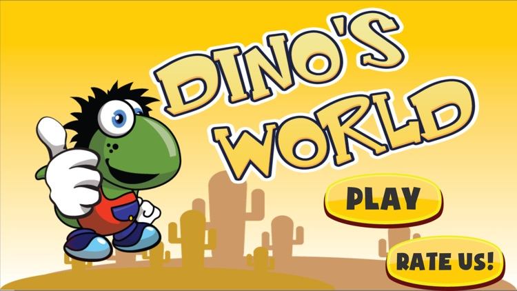 Amazing Dino World - Classic Platform Game for kids and adults
