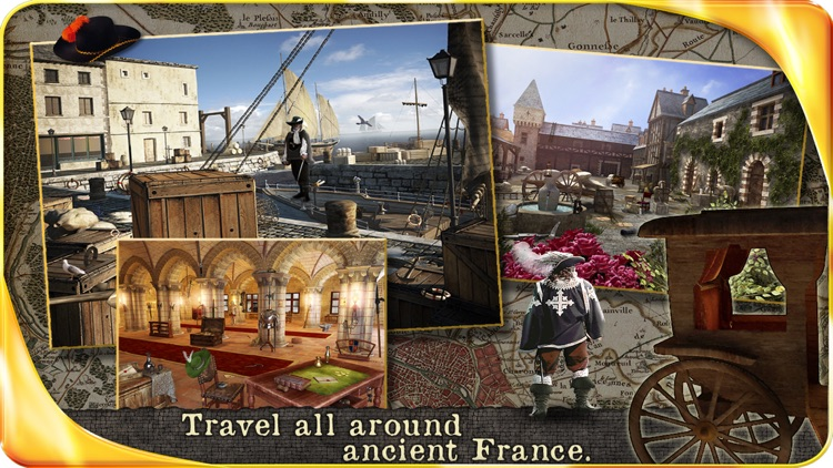 The Three Musketeers (FULL) - Extended Edition - A Hidden Object Adventure screenshot-3