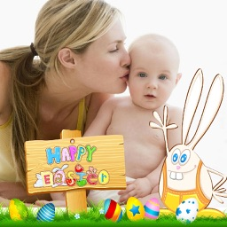 Easter Photo Frames and Collage