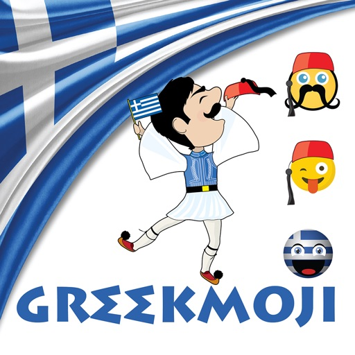 GreekMoji - Greek Emoji Keyboard