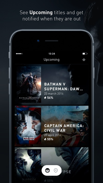 Snapseat - Browse nearest cinema movies