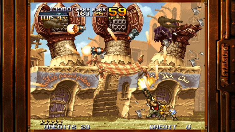 METAL SLUG 2 screenshot-4