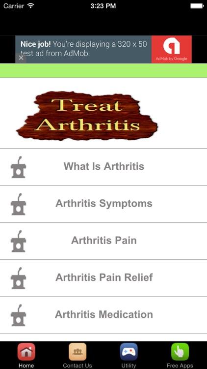 Arthritis Treatment And Arthritis Pain Relief