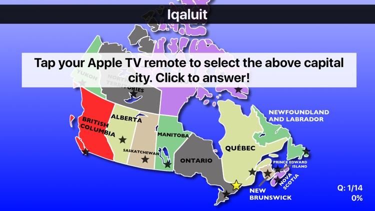 Canada Map Quiz Education Edition