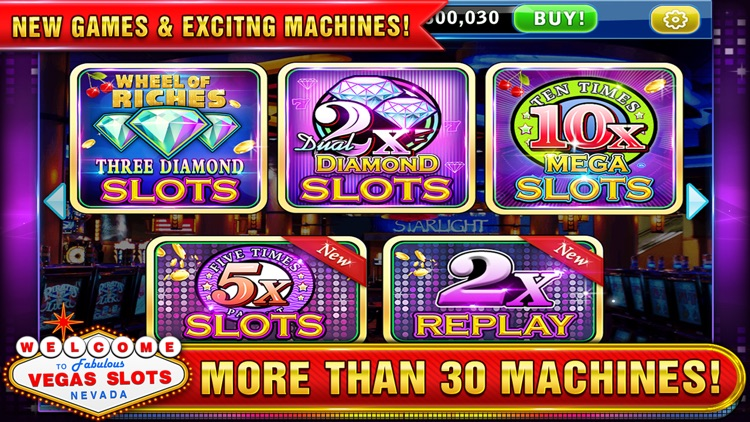 Vegas Slots - Play Las Vegas Casino Slot Machines! screenshot-4