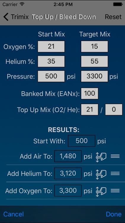 Dive Calculator screenshot-3