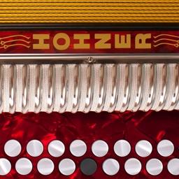 Hohner Melodeon Pro - Two-Row Diatonic Accordion