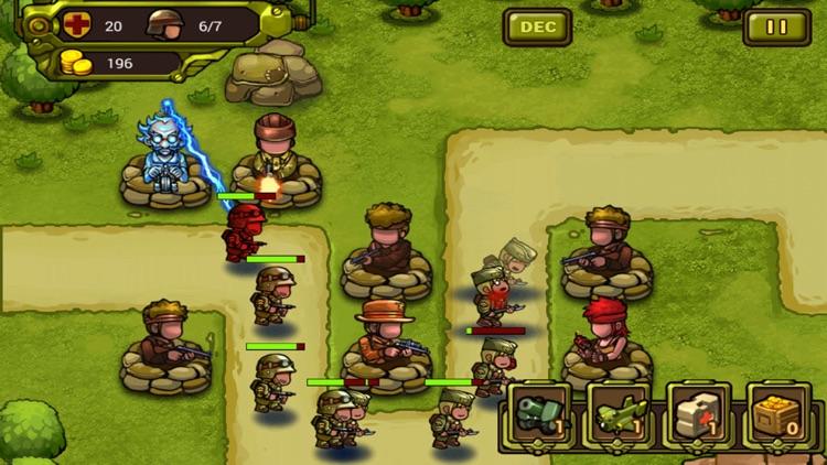 World War Tower Defense-Soldier Honor:Classical Sentinel Shooting Defense War Game screenshot-4