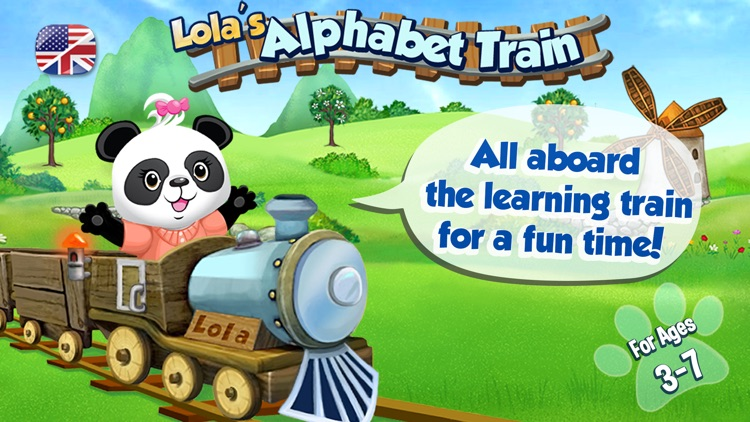Lola's Alphabet Train FREE - Learn to Read! screenshot-0