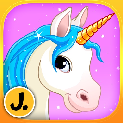 Beautiful Ponies and Cute Unicorns - puzzle game for little girls and preschool kids - Free