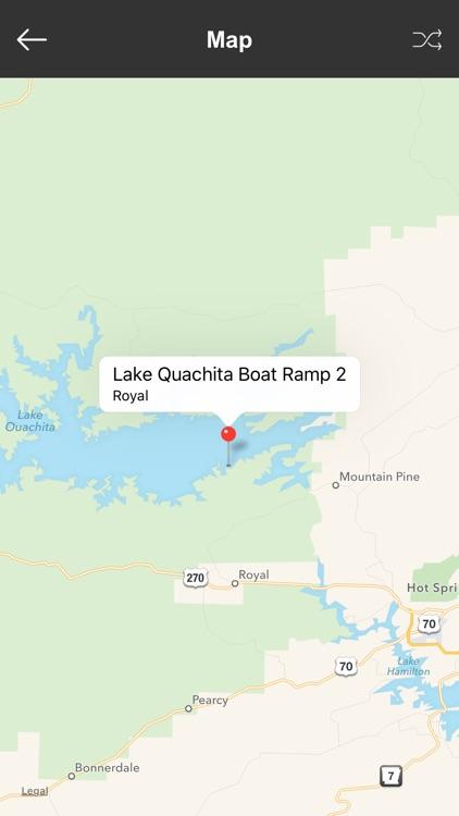 Arkansas Boat Ramps & Fishing Ramps screenshot-3