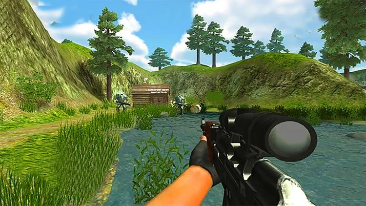 VR Sniper Shooting Game - War against Robots Commandos