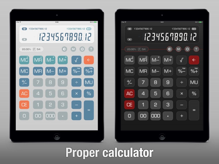Free Calculator Total Recalc – Business desktop tool with proper percentage and tax calculation, MU and rounding screenshot-0