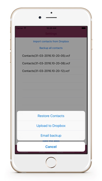 iBlacklist - Contacts manager all in one
